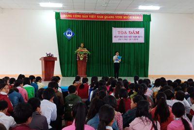 Hoạt động kỉ niệm ngày nhà giáo Việt Nam 20-11