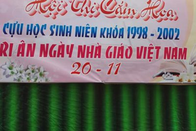 Tổ chức hoạt động ngoại khóa tri ân thầy cô nhân ngày Nhà giáo Việt Nam 20 – 11